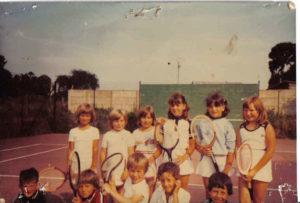 1ER STAGE TENNIS1982